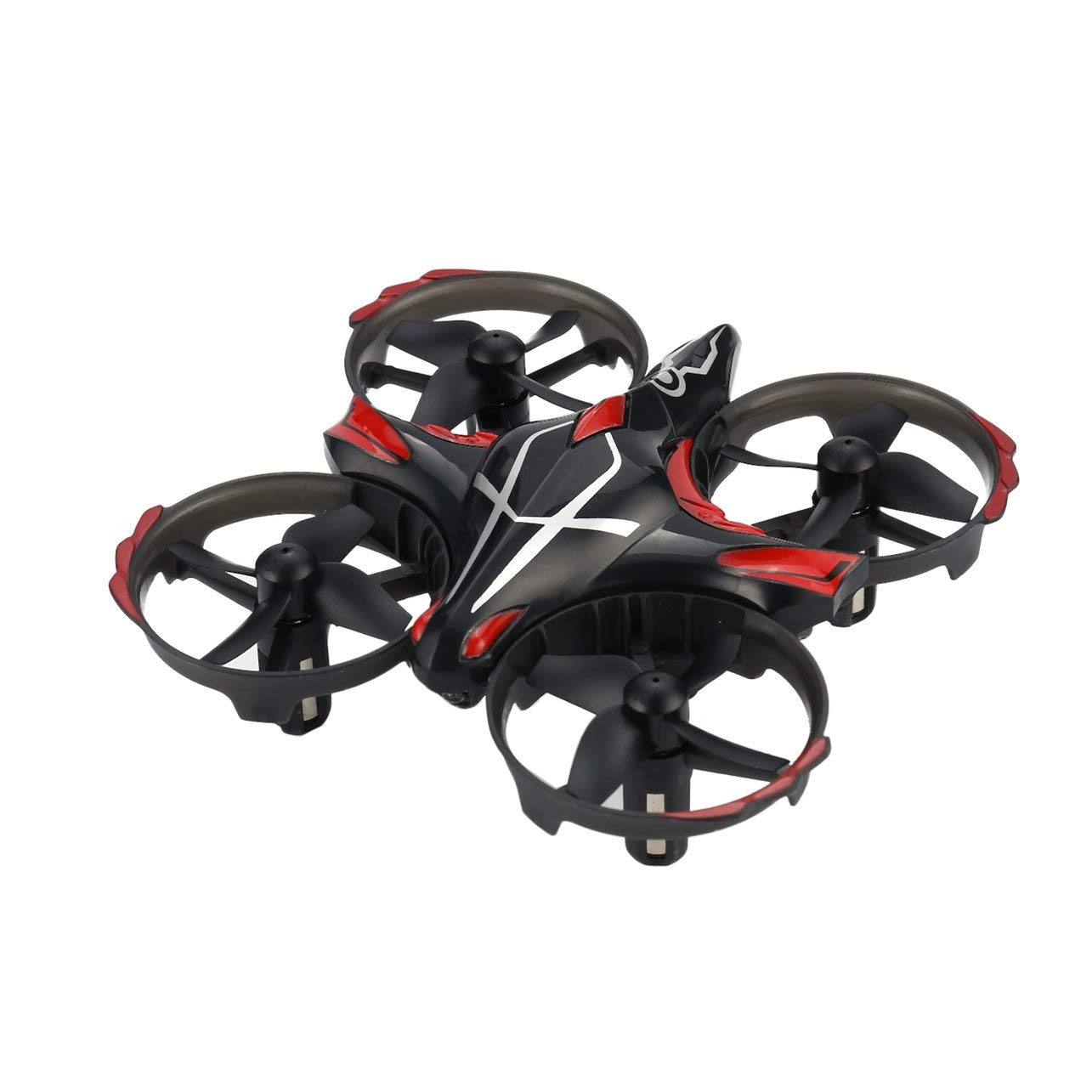 JJR/C H56 2.4G Mini Drone RC Infrared Sensing Altitude Hold 3D Flip Kids,Black WOSOSYEYO