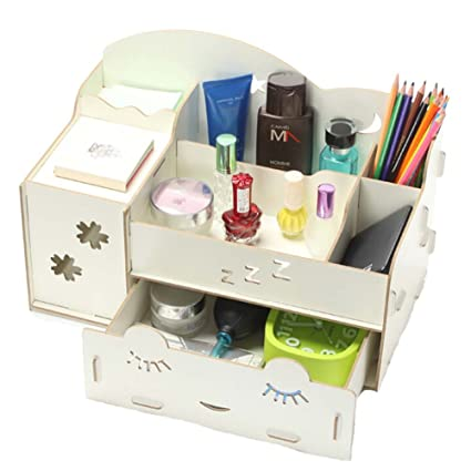 Organizador de escritorio de oficina para hacer cajas de almacenamiento cajas de almacenamiento de joyería