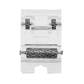 Prensatelas Accesorios para Máquina de coser Matefielduk Pie prensatelas de la máquina de coser del rodillo