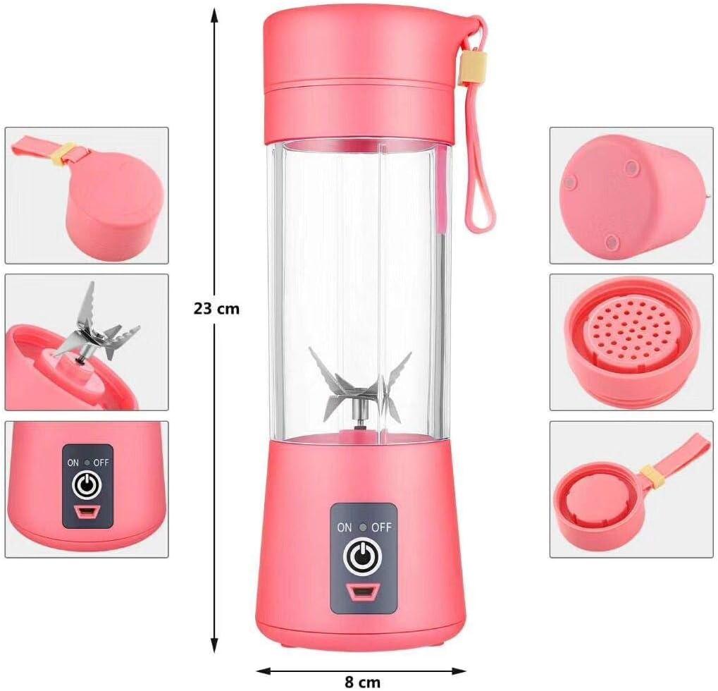 Licuadora personal [versión actualizada], vaso exprimidor portátil ...