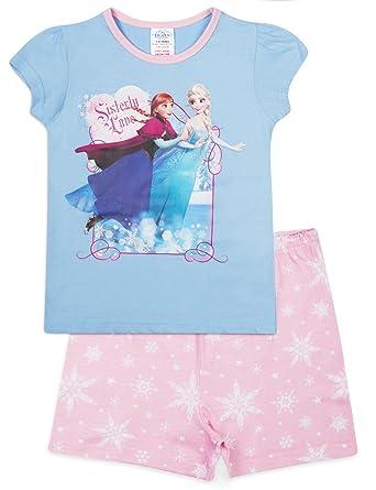 b5414216654 Disney Frozen Short Pyjamas Shorty Style Cotton Pyjama Set (5-6 Years)