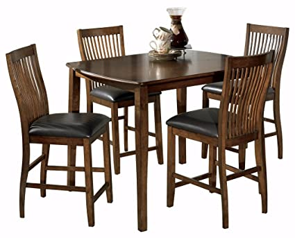1c359989c65f67 Image Unavailable. Image not available for. Color: Ashley Furniture  Signature Design - Stuman Dining Room Table and Barstools Set - Counter  Height -