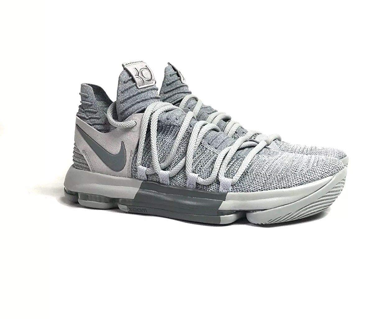 on sale 64421 7335e Nike Zoom KD10 Men's Basketball Shoes Wolf Grey Cool Grey 897815 007  (medium)