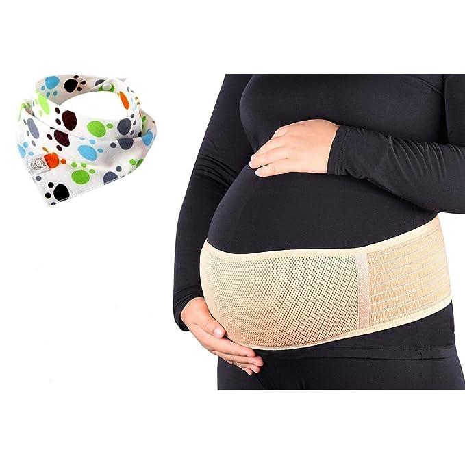 Cinturón de Maternidad, Faja de Premamá, Apoyo Lumbar y Abdominal para Mujeres Embarazadas,