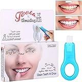 Pulizia dei Denti, Sbiancanti Denti, Placca e tartaro Rimozione, Pulizia Intensiva per Eliminare l'alito Cattivo e Denti le Macchie