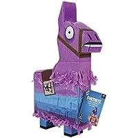 Jazwares-Fortnite La piñata de la Llama, Color Rosa/Azul/Negro