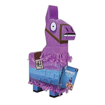Jazwares Fortnite La La Piñata De La Llama Color Rosaazulnegro Talla única Fnt0009