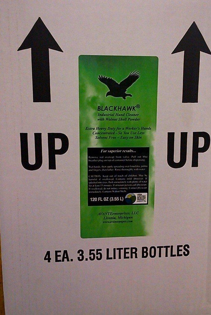 BLACKHAWK Industrial Hand Cleaner, 120 ounce bottles, (case of 4) by Blackhawk IHC (Image #3)