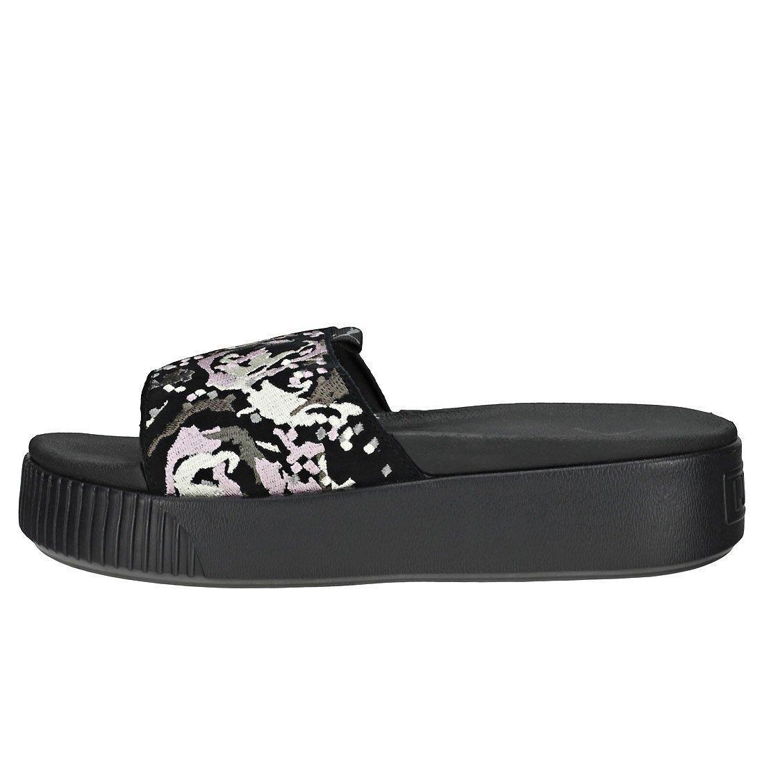 ba88013597b6 Puma Platform Digital Embroidery Womens Slide  Amazon.co.uk  Shoes   Bags