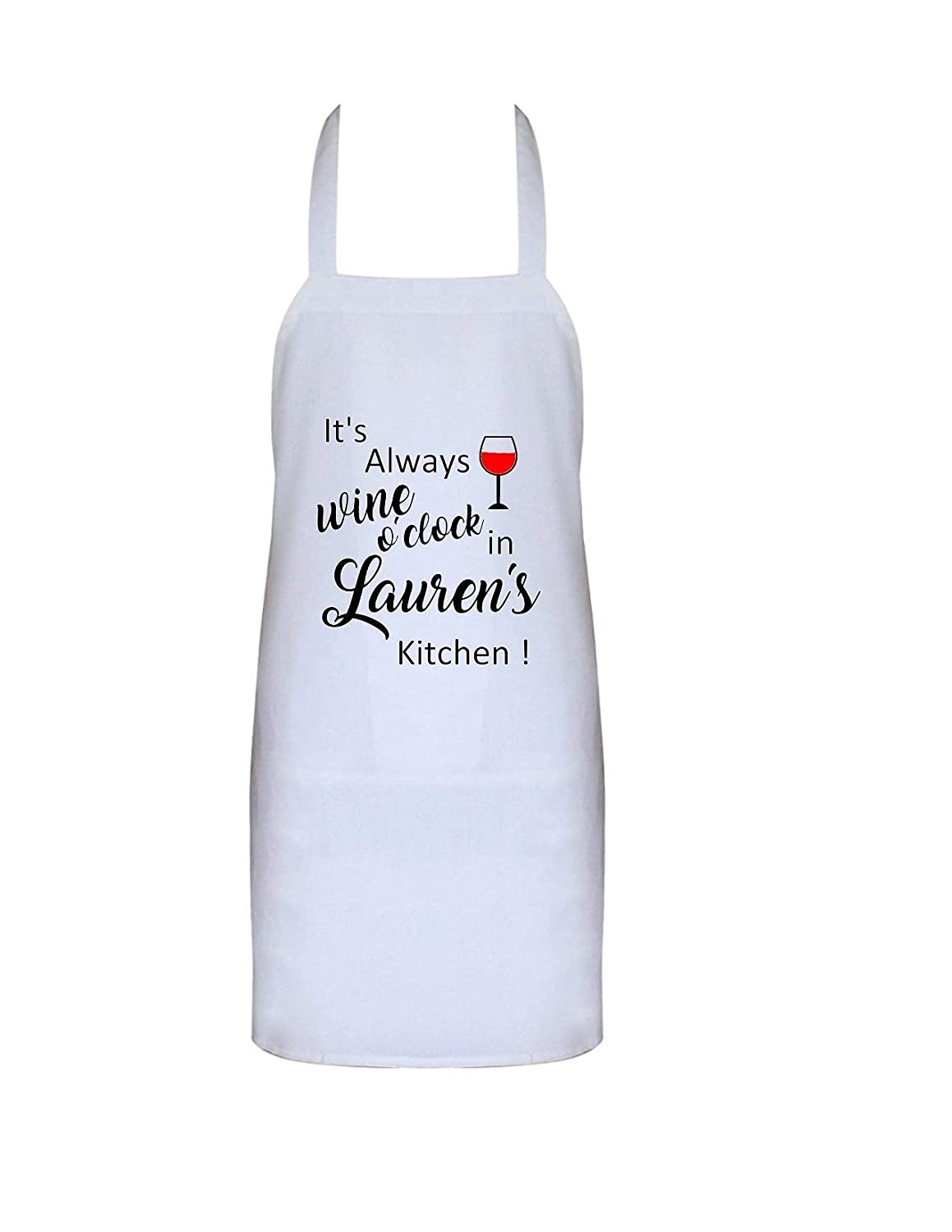 I Cook With Wine Funny Apron Perfect Mothers Day Present Kitchen Cooking