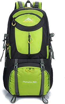 60L Waterproof Camping Travel Rucksack Backpack Climbing Hiking Bag Trekking