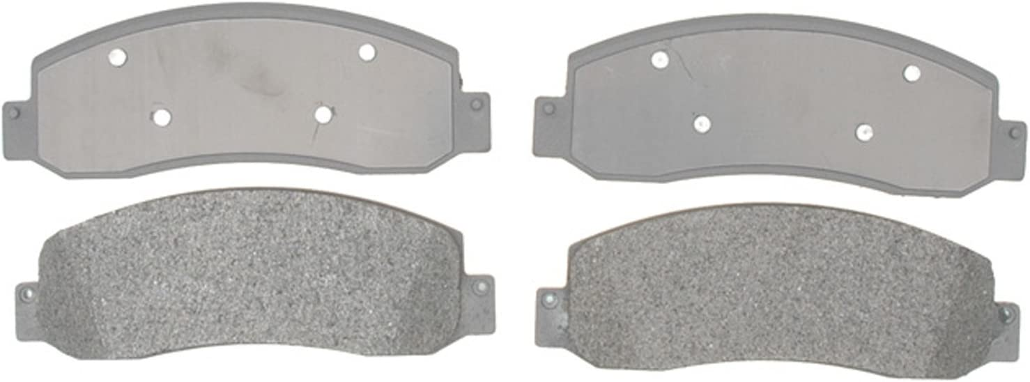 ACDelco 14D904M Advantage Semi-Metallic Front Disc Brake Pad Set