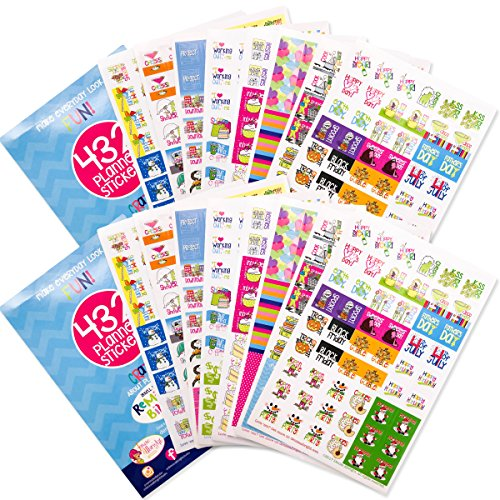 (864 Planner Stickers Bundle Set Every Gal Collection for Every Calendar, Planner and)