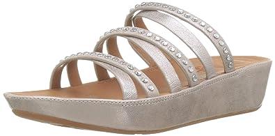9bd7396b7ca FitFlop K43 Women s Linny Crystal Slide Sandal