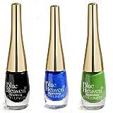 Blue Heaven Cosmetics Combo Of 3 Sparkeling Eyeliner (04, 06, 07) 5 Ml x 3Pc