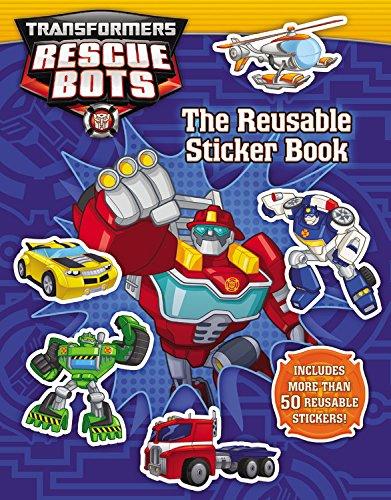 Read Online Transformers Rescue Bots: Reusable Sticker Book pdf epub