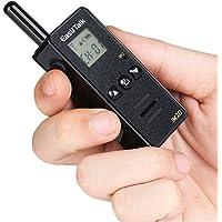 Walkie Talkie EasyTalk M2D CB Radio UHF 400-520MHz 128CH 2 Way Radios with Earpiece for Kids/Outdoor (Black)