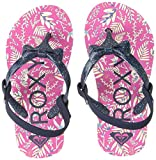 Best Girl Flip Flops - Roxy Girls' TW FIFI FLIP Flops, hot Pink Review