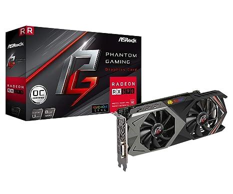 ASRock Phantom Gaming U Radeon RX 590 8G OC 8GB GDDR5 ...