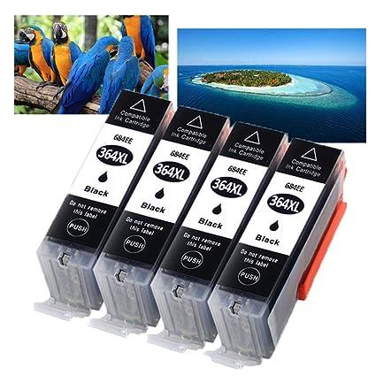 HP 364 364XL - Cartuchos de Tinta para HP Photosmart 5520 ...
