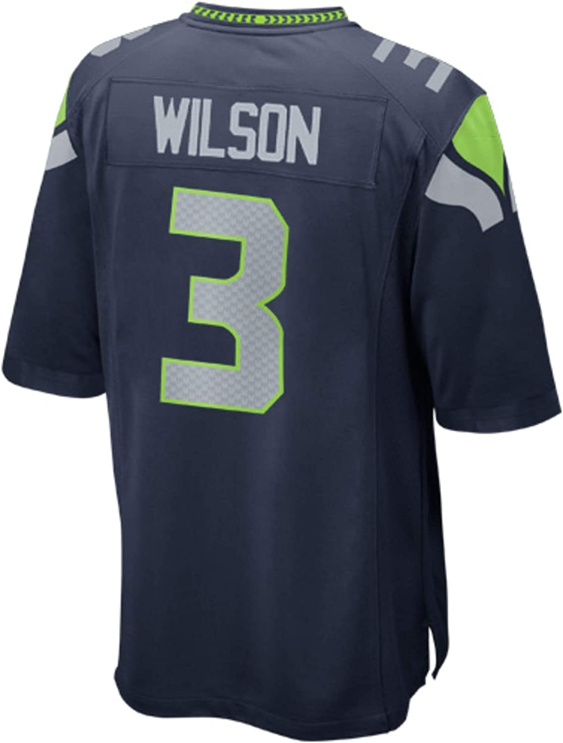 Mens//Woman/_#3/_Russell/_Wilson/_College/_Navy/_Game/_Jersey