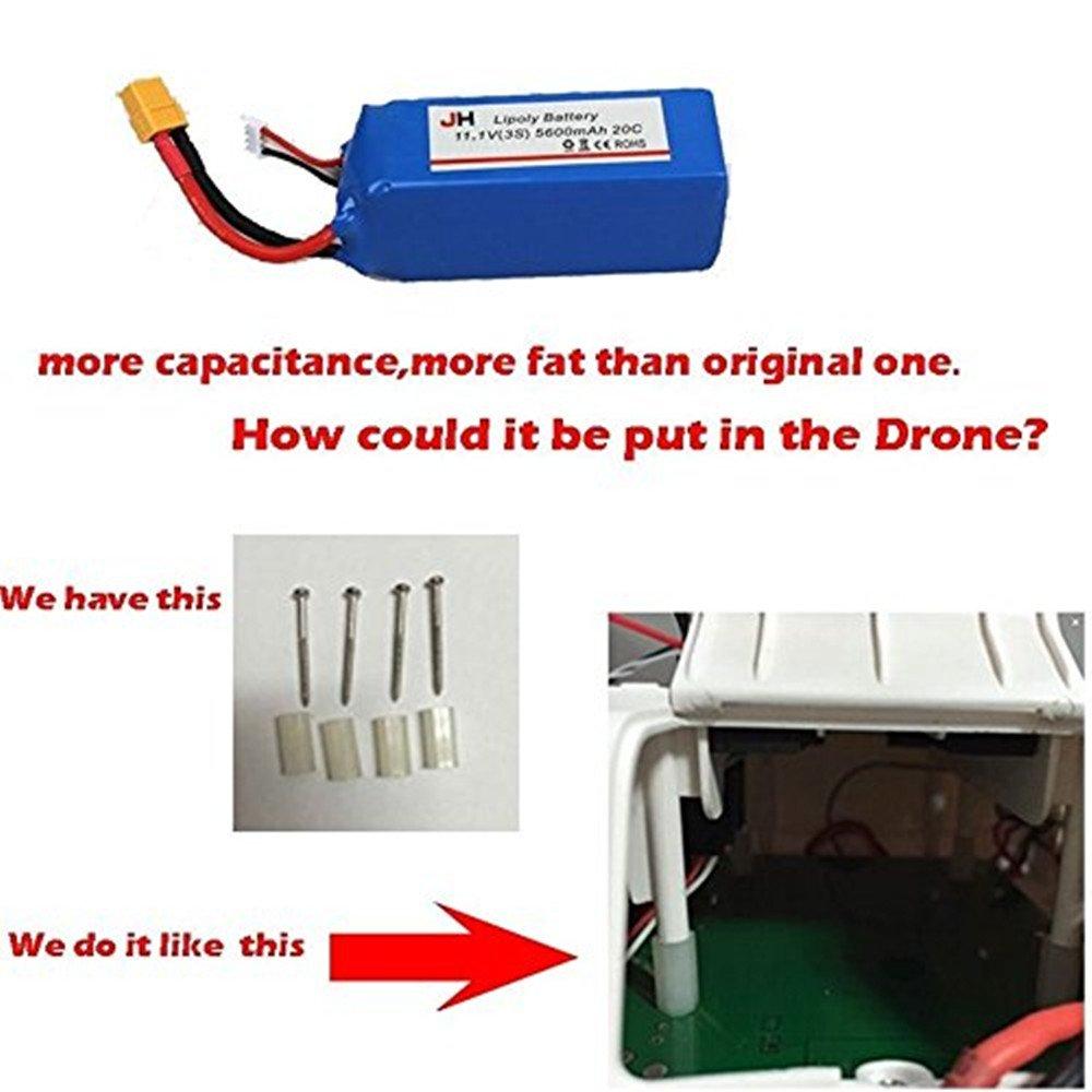 ILov Baterías Batería piezas de repuesto para Cheerson Cx-20 CX20 ...
