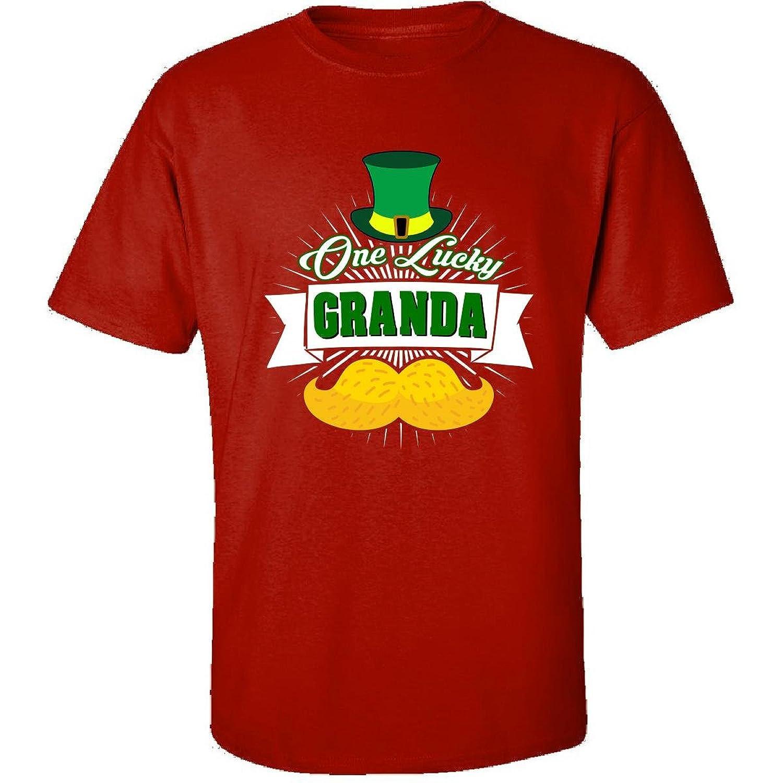 St Patricks Day One Lucky Granda Irish Gift - Adult Shirt