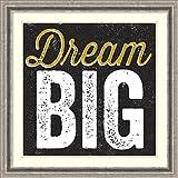 Framed Art Print 'Dream Big' by Alicia Bock