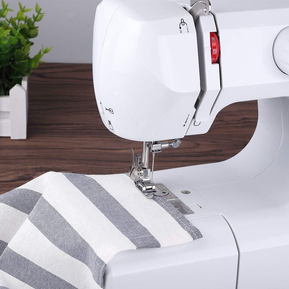 Household máquina de coser eléctrica multifunción chasis de metal: Amazon.es: Hogar