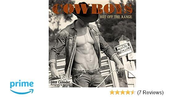 2018 Cowboys Hot Off The Range Wall Calendar Calendar Wall