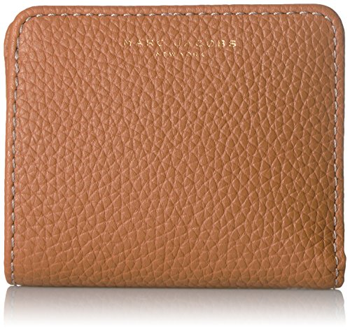 Marc Jacobs Gotham Open Face Billfold Wallet, Maple Tan, One - Marc Jacobs Brown