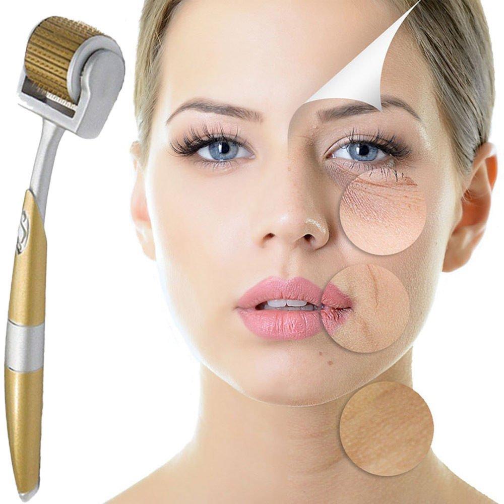 Zgts Derma Roller Micro Needling Titanium Facial Skin Care Roller (ZGTS-0.5MM) Ekai