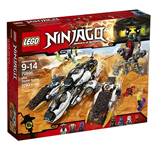 LEGO Ninjago 70595 Ultra Stealth Raider Building Kit (1093 Piece)
