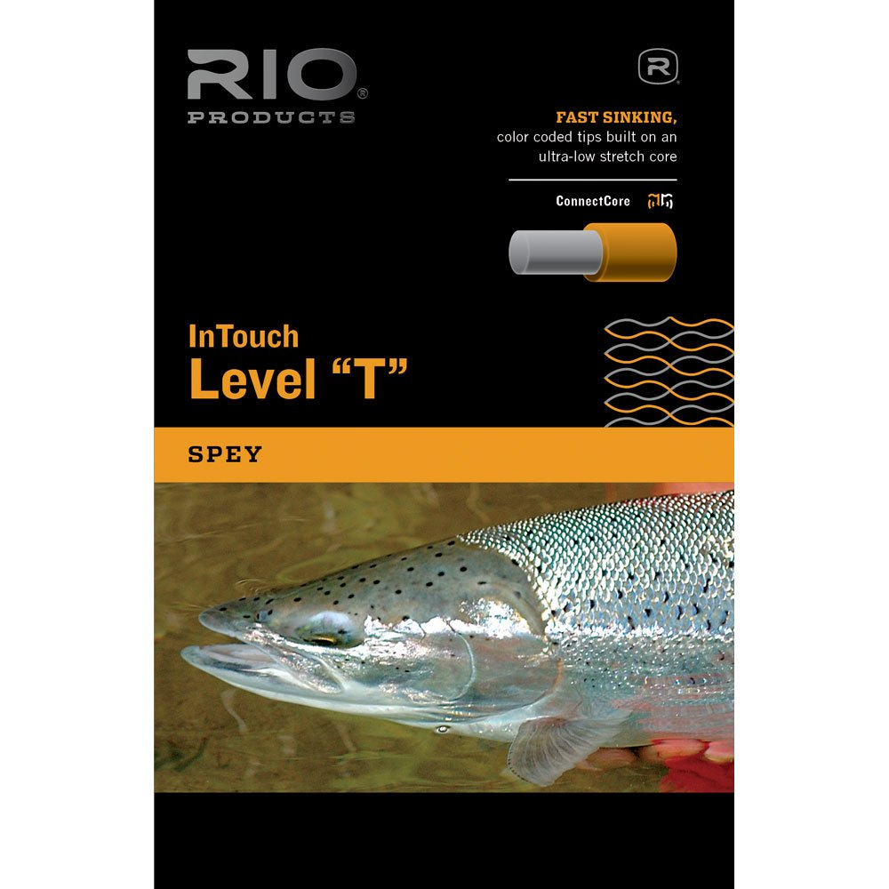 Rio InTouchレベルT Fly Sinkingヒント B00N55SPJA  ディープレッド 500FT/20LB