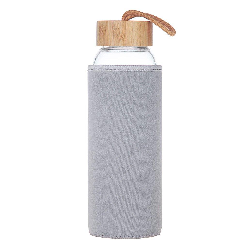 Life4u 1 L Sport Trinkflasche Glas Große Klappe Wasser Flasche Mit ...