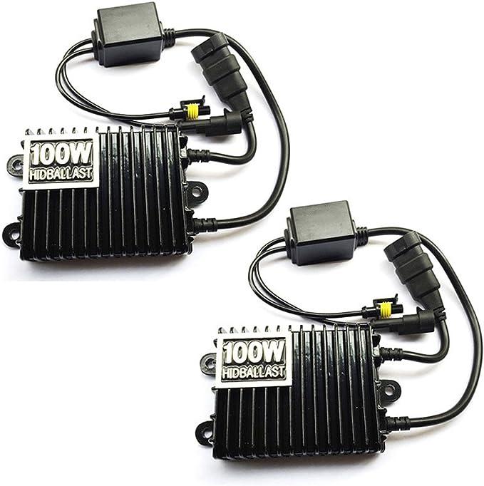 Lot de 2 ballasts de rechange universels HID 12 V pour phare x/énon H1 H3 H7 H8 9005 9006