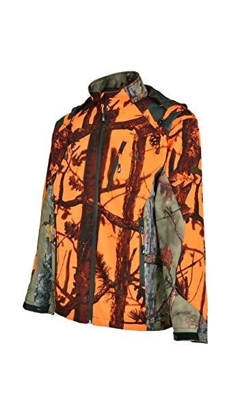 Percussion - Chaqueta de Caza Softshell ghostcamo: Amazon.es: Ropa y accesorios