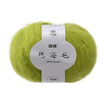 Kingko® - Medias de punto de lana de cachemira natural suave de lana de lana
