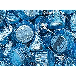 Kisses and Reese's In Light Blue Foils