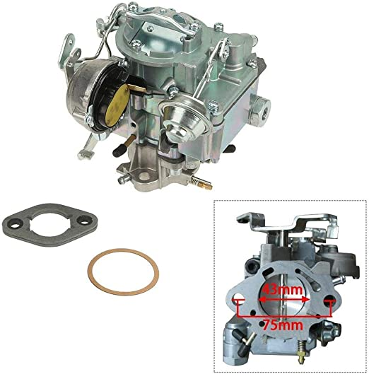 Carburetor 1 BBL Rochester For 1963-96 Chevy /& GMC 250 /& 292 W//Choke Thermostat