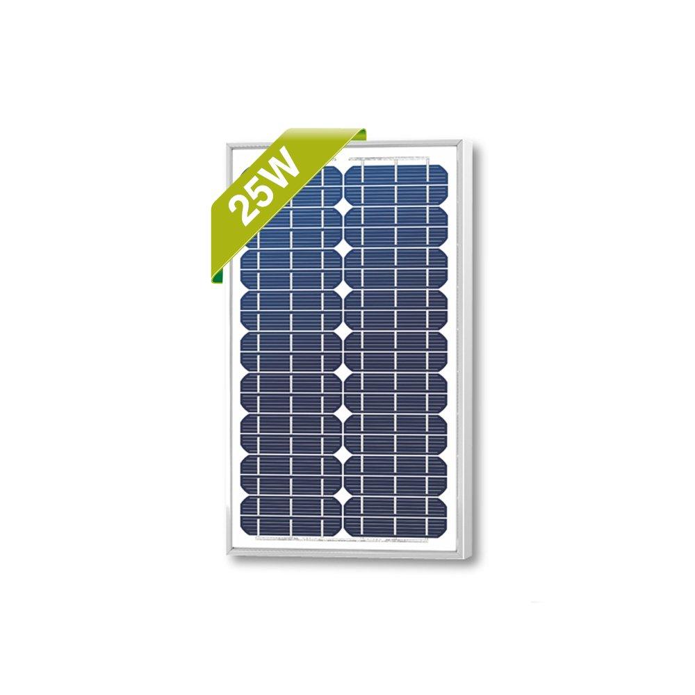25 Watts Monocrystalline Newpowa High Quality 12v Mono Solar Panel Module 20W NPA25-12