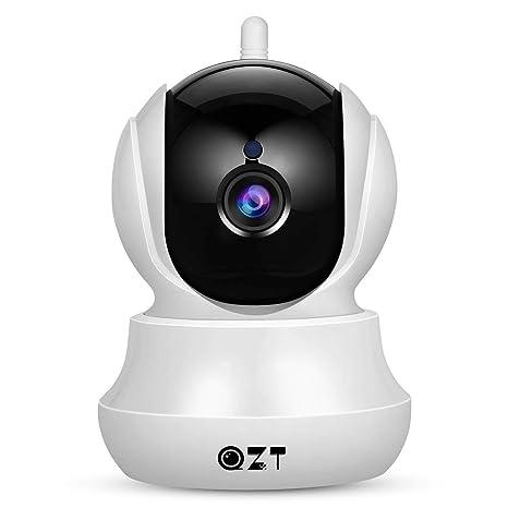 Cámara IP, Cámara de Vigilancia QZT 1080P Wifi con Visión Nocturna ...