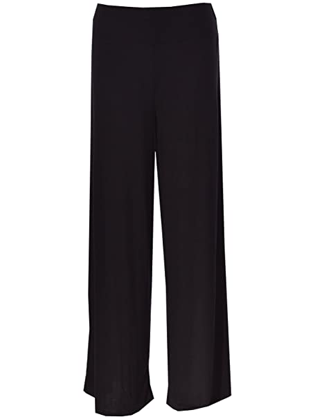 b546bb8dcc5 Miss Moody Fashion Women Ladies Palazzo Plain Flared Wide Leg Pants Alibaba  Harem Baggy Trouser  Amazon.co.uk  Clothing