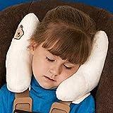 Highdas nuevo bebé protectora del cojín / asiento de coche / amortiguador del cuerpo de la cabeza de la almohadilla protectora dúplex (blanco)