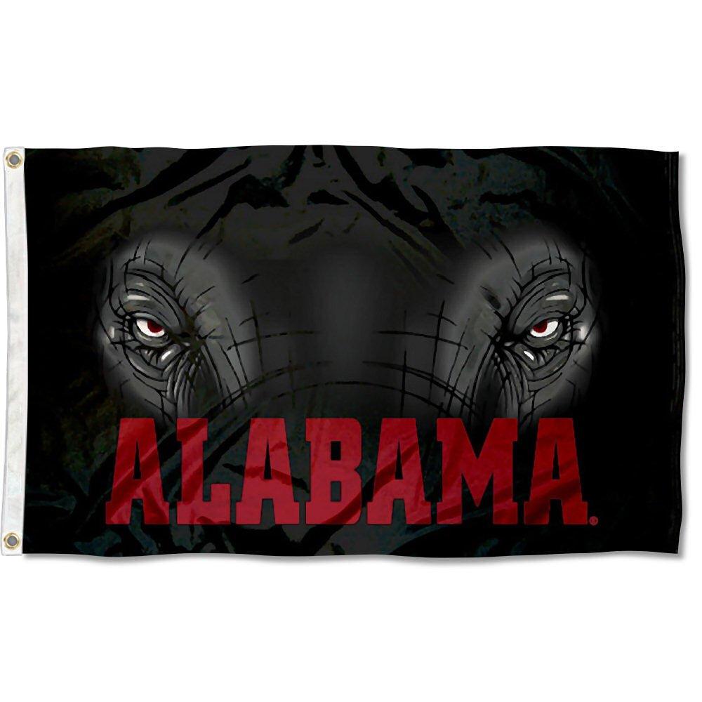Alabama Crimson Tide Roll Tide University Large College Flag