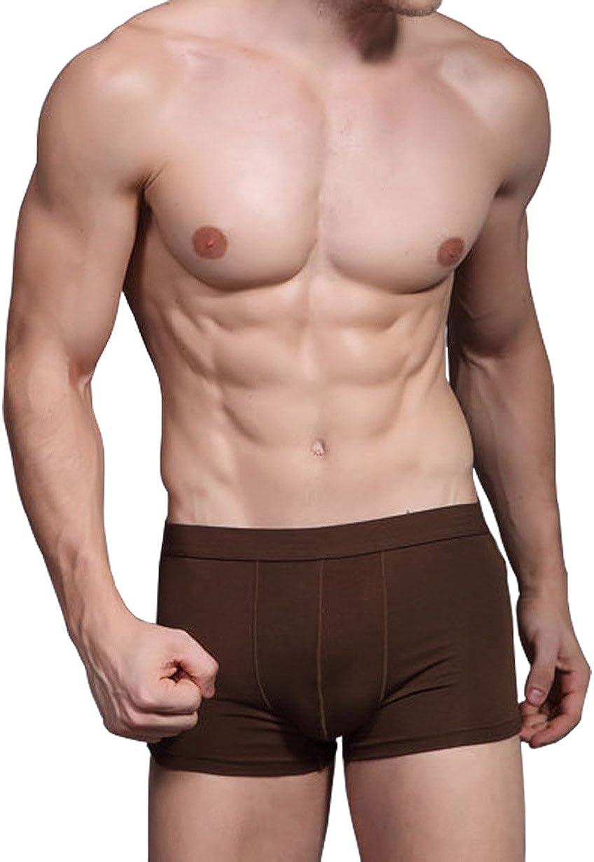 Hoerev Pack de 3 Hommes Fibre de Bambou Briefs Underwear
