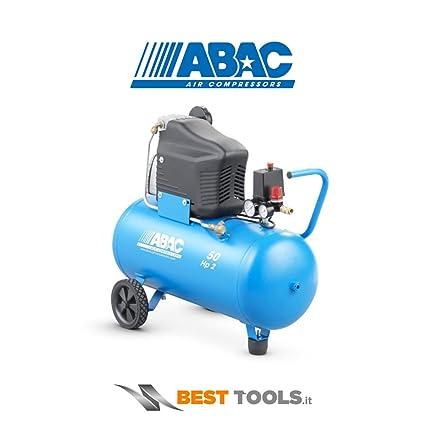 ABAC - Compresor 2Hp C/Aceite 8 Bar Abac 50 L: Amazon.es: Bricolaje ...