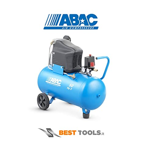 ABAC - Compresor 2Hp C/Aceite 8 Bar Abac 50 L