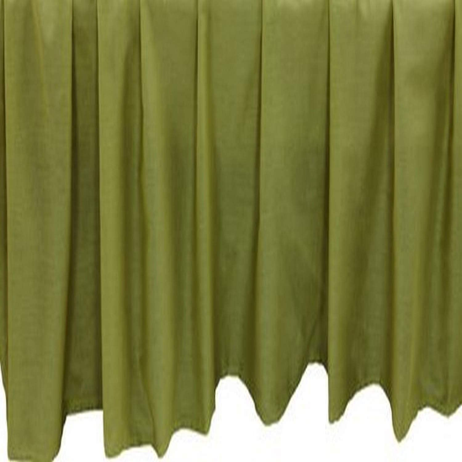 Be-you-tiful Home Basic 3-Piece Bedskirt Set, Twin, Apple Green