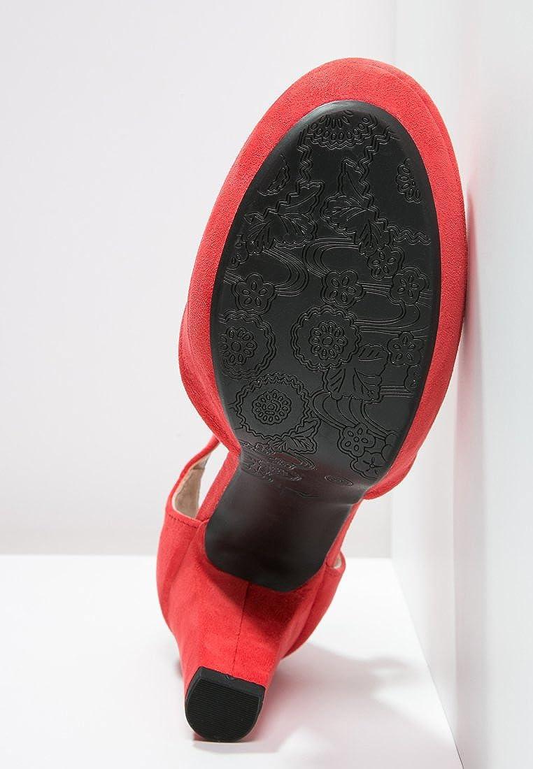 Anna Field Botas Chelsea de Mujer en Coñac, Talla 42: Amazon.es: Zapatos y complementos